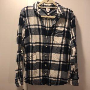 Jcrew Women's Flannel Shirt - M